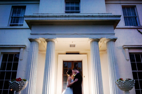 Danielle & Michael - this is how you photograph a wet wedding - The Park House Hotel, Shifnal