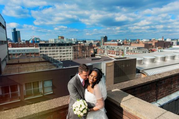 Danielle & Nick - A wedding in Manchester city centre and no rain??